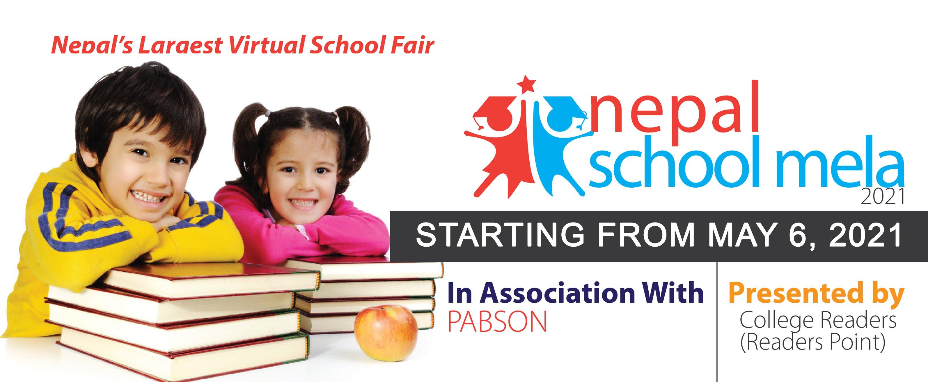 Nepal's first largest virtual Edu Fair-NEPAL SCHOOL MELA-2021 to kick-off today