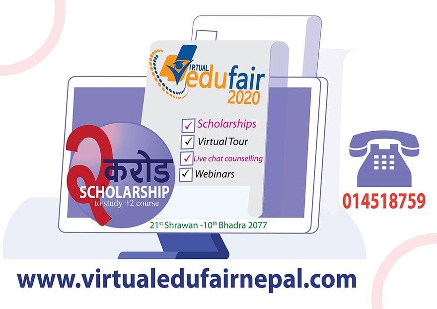 Nepal's Largest Virtual Education Fair declares 2 crores scholarship