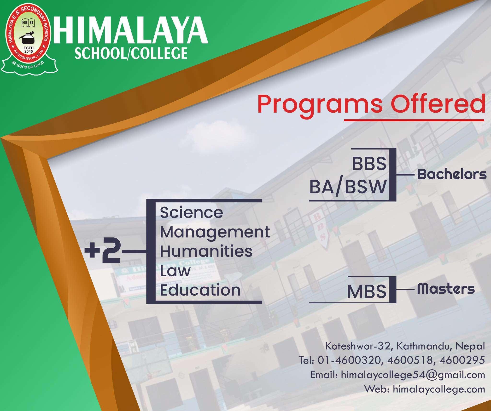 Himalaya School / College